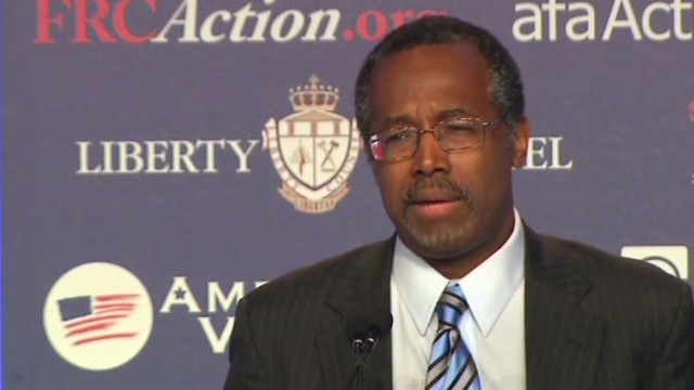 Carson: Obamacare as bad as slavery