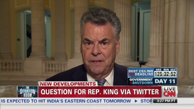 Rep. King: Real RINO is Ted Cruz