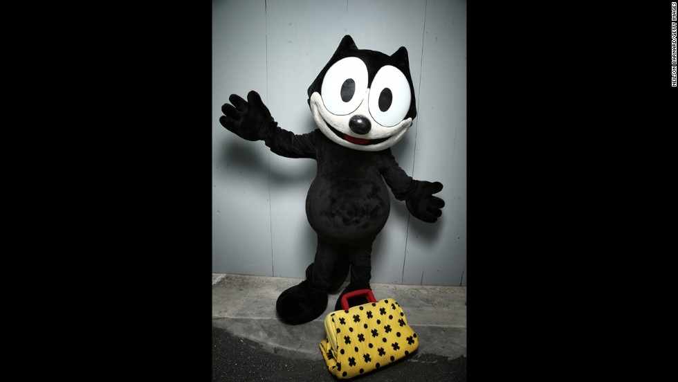 Everyone's favorite funny feline character from the silent film era, Felix the Cat.