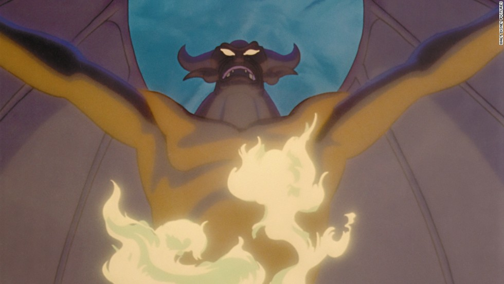 "Chernabog is a humongous, powerful demon who appears in the ""Night on Bald Mountain/Ava Maria"" segment in Disney's 1940 animated film, ""Fantasia."""