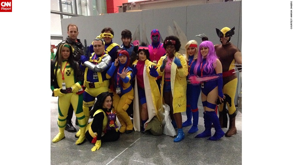 """Now in its eighth year, New York Comic Con is a force to be reckoned with, as fans descended upon the Big Apple in the hundreds of thousands from October 10 to October 13 to celebrate their favorite sci-fi, fantasy and comic books. Some, such as this group of <a href=""""http://t.co/iqL7lKyZrY"""" target=""""_blank"""">1990s X-Men</a>, take part in what's called """"cosplay,"""" masquerading as popular or at times, obscure characters. Click through the gallery for more photos from NYCC:"""