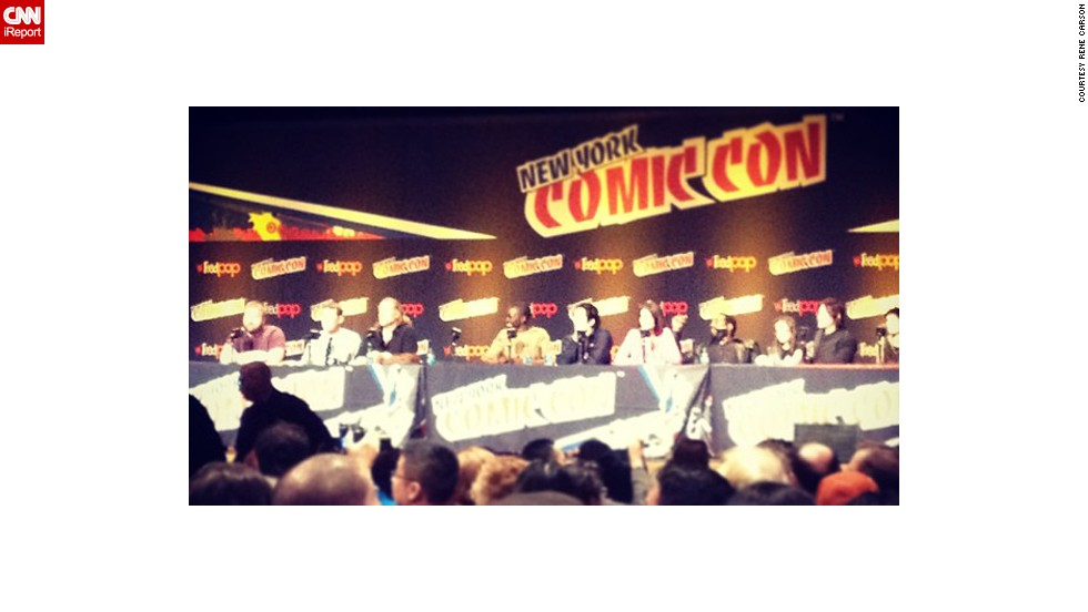 """Being the most popular scripted series on TV, """"The Walking Dead"""" had a packed panel on Saturday, and even announced <a href=""""http://instagram.com/p/fZGFu1wokZ/"""" target=""""_blank"""">two new actors</a> joining the show, Michael Cudlitz and Josh McDermitt."""