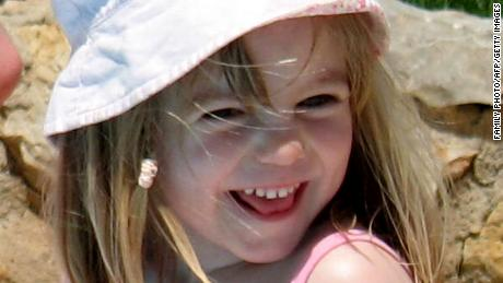"A picture released by the McCann family on May 24, 2007 shows missing British girl Madeleine McCann on May 3, 2007, the same day she went missing from the family's holiday apartment in the southern Algarve region. British police said on October 4, 2013 that analysis of mobile phone data from thousands of people who were in a Portuguese resort when Madeleine disappeared in 2007 could provide a new lead. A major appeal based on ""substantive"" new information will be broadcast on a BBC television programme on October 14. AFP PHOTO/FAMIL HANDOUT"