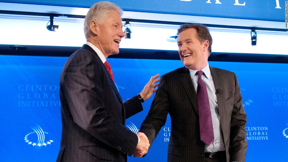 "In his book ""Shooting Straight,"" CNN's Piers Morgan wrote that Bill Clinton remains ""the smartest, most eloquent and popular politician in the world today."""