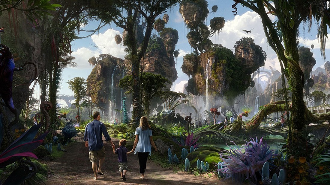 <strong>Pandora -- The World of Avatar (Florida): </strong>Walt Disney Imagineering is working with filmmaker James Cameron and Lightstorm Entertainment to re-create Cameron's whimsical world.