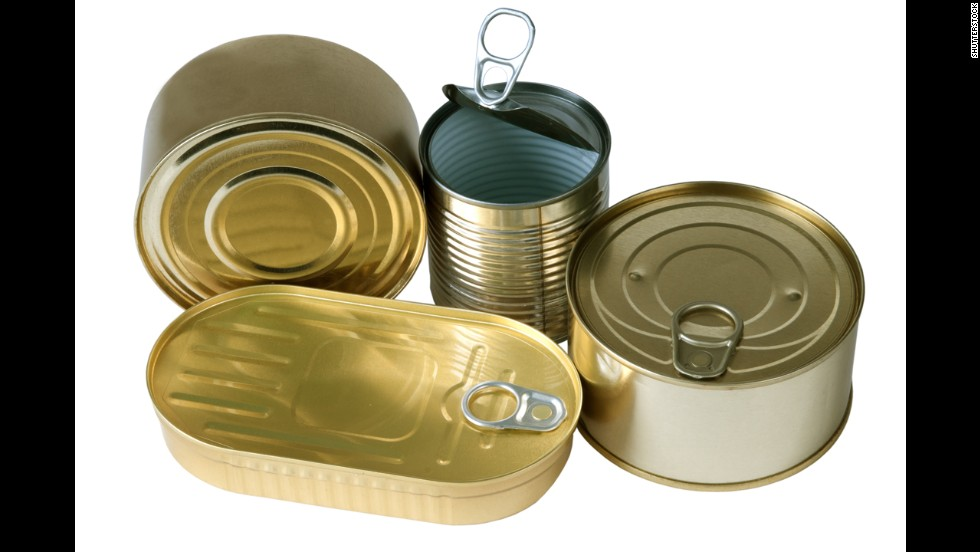 "<strong>Canned food: </strong>BPA epoxy resins can leach into your food from the lining of metal food cans. In <a href=""http://www.cdc.gov/biomonitoring/BisphenolA_FactSheet.html"" target=""_blank"">one CDC study</a>, researchers found traces of BPA in the urine of nearly all 2,517 participants."