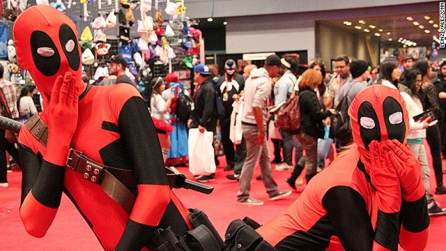 2013: Nerds invade New York Comic Con