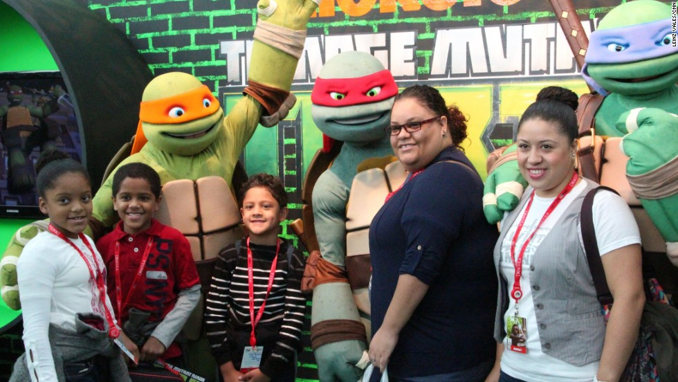 Teenage Mutant Ninja Turtles surprises one family at Comic Con.