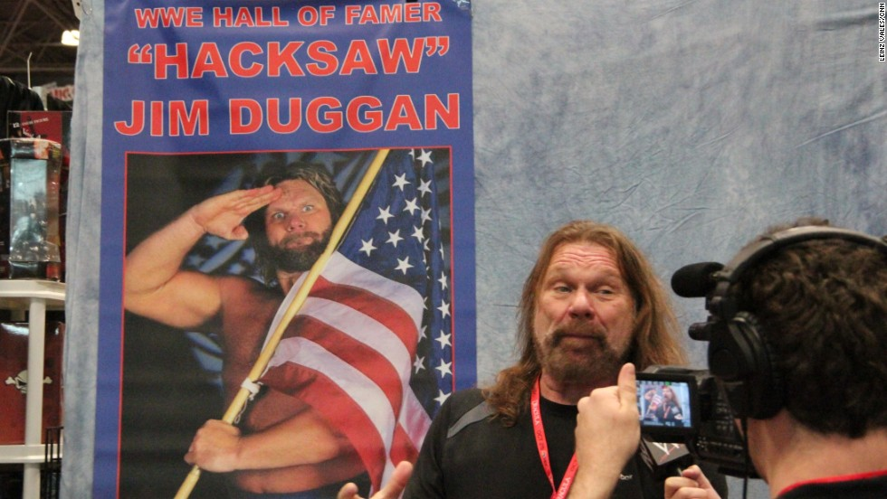 """Hoooooooo!!!: ""Hacksaw"" Jim Duggan still got it."