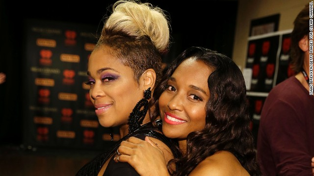 Tionne 'T-Boz' Watkins (left) and Rozonda 'Chilli' Thomas of TLC attend the iHeartRadio Music Festival at the MGM Grand Garden Arena on September 20, 2013 in Las Vegas, Nevada.