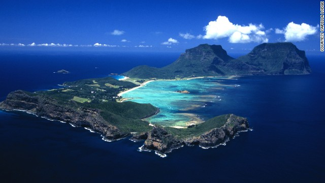 Lord Howe Island has the world's southernmost barrier coral reef.