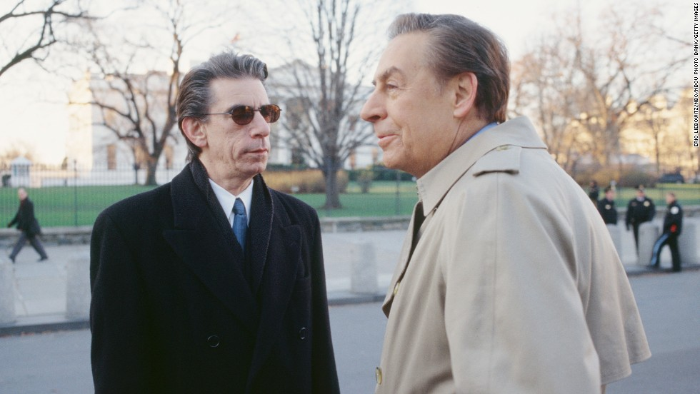 "Here Munch, left, appears on an episode of the original ""Law & Order"" series in 1999 opposite Detective Lennie Briscoe (played by the late Jerry Orbach)."