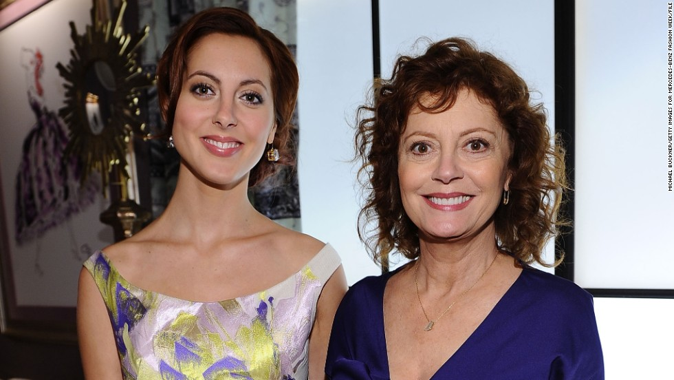 "Susan Sarandon, seen here with her actress daughter, Eva Amurri, is known for films such as ""The Rocky Horror Picture Show,"" ""Thelma & Louise"" and ""Bull Durham."" But Sarandon has agreed <a href=""http://variety.com/2013/tv/news/susan-sarandon-eva-amurri-martino-to-topline-nbc-comedy-1200725101/"" target=""_blank"">to star with Amurri in a new NBC sitcom</a>."