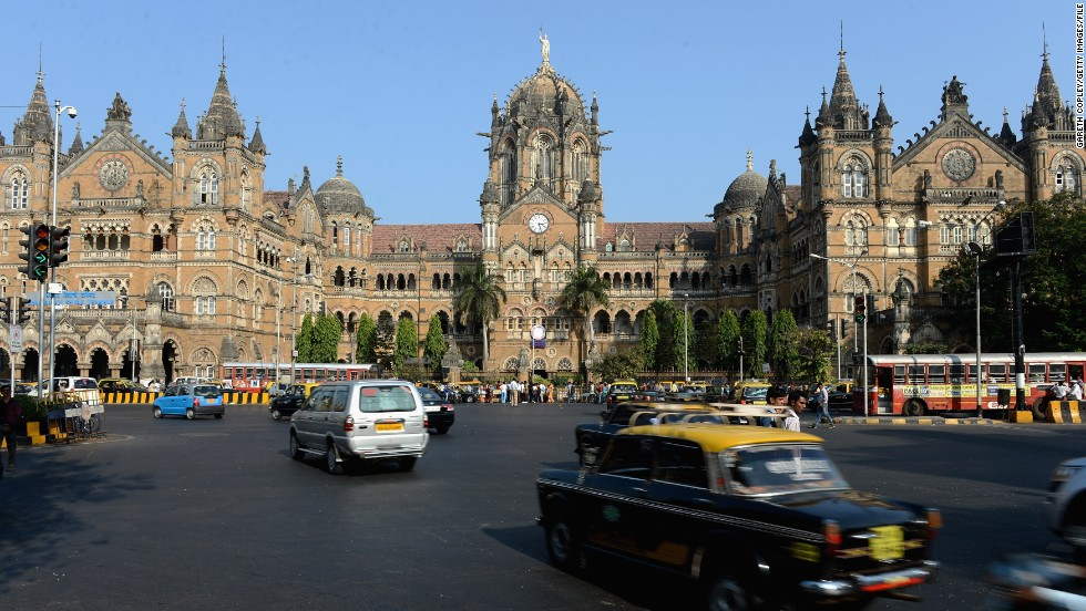 Not only is the Chhatrapati Shivaji Terminus in Mumbai the busiest train station in India, it's also a UNESCO World Heritage Site. The immense facility -- featuring a mixture of gothic turrets, stone domes and pointed arches -- serves as a terminal for long distance trains and suburban railway services. It was also featured in the 2008 hit movie, Slumdog Millionaire.