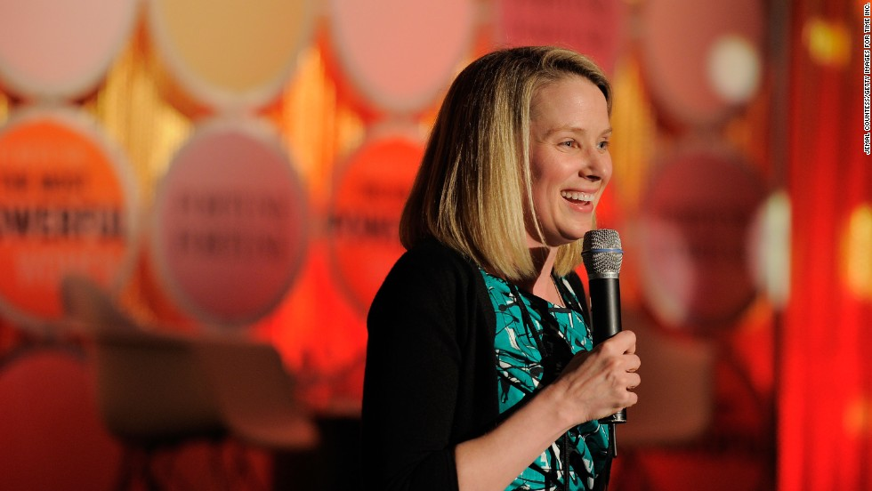 Yahoo chief executive Marissa Mayer is a major figure in the tech industry. She started out at Google in 1999 as its first female engineer.