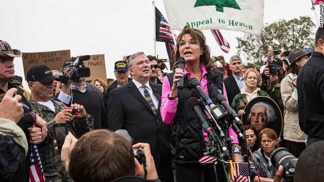 She's back! Palin shines during shutdown