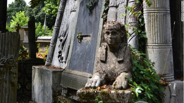 Riddle of the sphinx ... and the Gothic angels .... and the urns.