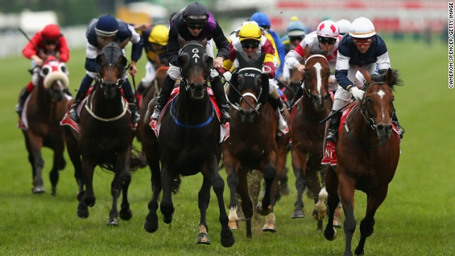 Melbourne Cup day is a public holiday in Victoria.