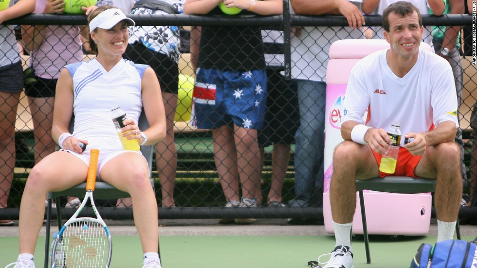 Radek Stepanek of the Czech Republic knows more than most about the trials and tribulations of a tennis fling. He was engaged to marry former world No. 1 Martina Hingis before the two called off their nuptials in 2007.
