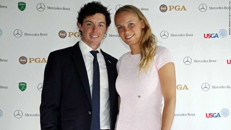 It's official -- double major winner Rory McIlroy and former world No. 1 Caroline Wozniacki are no more. McIlroy says he realized he wasn't ready for marriage when their wedding invitations were mailed out. When it comes to sport, the path of true love rarely runs smooth and in this gallery, CNN looks at sporting couples who have aced their relationships and those who have seen their private lives hit the rough.