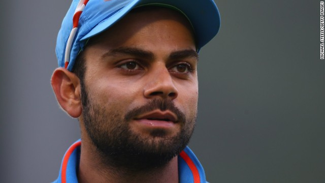 Virat Kohli smashed the fastest one day international centry by an Indian in their massive run chase against Australia.