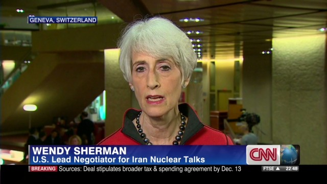 U.S. negotiator discusses new Iran talks