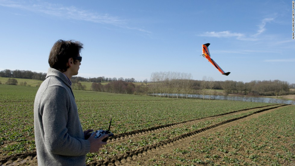 Soon, real farming could be as easy as online farming games. Time-consuming agricultural tasks, such as spraying pesticides, could be left to UAVs, whilst surveillance drones can analyze the land and offer insight into how to boost the harvest. This French drone is scanning crops to help farmers optimize water levels and fertilizer use.