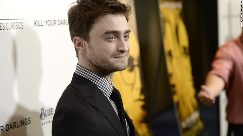 "Former ""Harry Potter"" star <a href=""http://www.cnn.com/2013/10/16/showbiz/daniel-radcliffe-life-after-harry-potter/index.html?hpt=en_c1"">Daniel Radcliffe told CNN</a> he can identify with the poet Allen Ginsberg, whom he plays in the movie ""Kill Your Darlings."" ""I think most creative people like Allen basically veer between ambition and anxiety, between self-doubt and confidence,"" Radcliffe said. ""I definitely can relate to that, even if I don't have the extremes of confidence he has. He was calling himself a genius in his diary, at the age 14! I would never have said that about myself, even to myself. But we all go through that, 'Am I doing the right thing? Is this what (I'm) meant to be doing?' Hopefully in less extreme ways."""