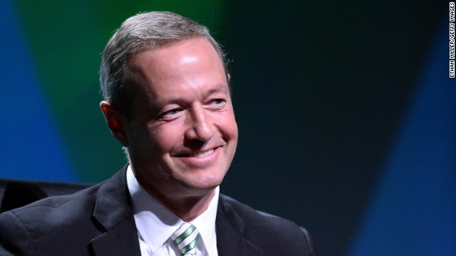 LAS VEGAS, NV - AUGUST 13:  Maryland Gov. Martin O'Malley participates in a panel discussion during the National Clean Energy Summit 6.0 at the Mandalay Bay Convention Center on August 13, 2013 in Las Vegas, Nevada. Political and economic leaders are attending the summit to discuss a domestic policy agenda to advance alternative energy for the country's future.  (Photo by Ethan Miller/Getty Images)