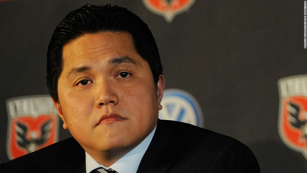 "Thohir, who is also a part owner of American MLS club DC United, says it is a ""dream come true, an unbelievable story to own Inter, I never imagined it."""