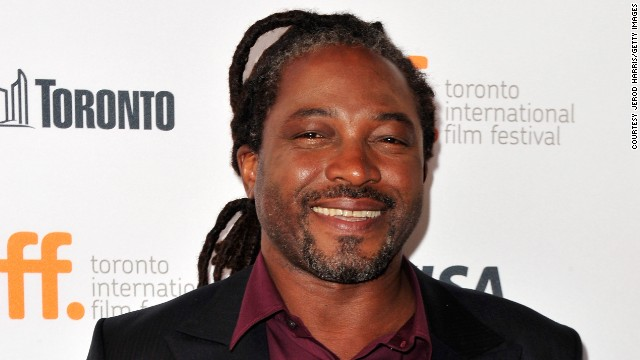 Nigerian-born director Biyi Bandele at the premiere of his movie 'Half of a Yellow Sun' at Toronto's International Film Festival