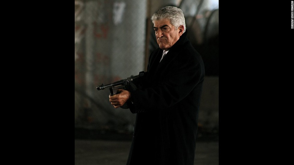 "No one -- but no one -- plays a bad guy like Frank Vincent.  He found fame when his character, Billy Batts, was killed in ""Goodfellas."""