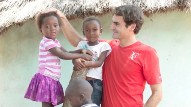 Roger Federer: A crusader for education