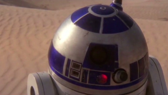 'Star Wars' comes to life in Sahara