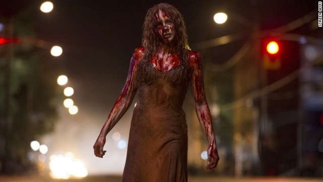 "Chloe Moretz stars as Carrie White in ""Carrie."""