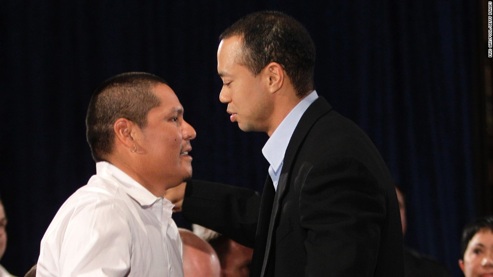 Begay was one of the invited guests as Tiger Woods made his public admission of infidelity in 2010.