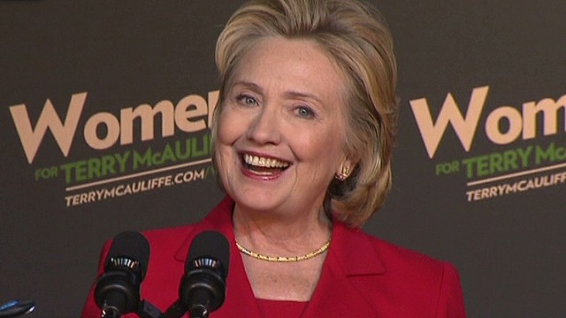Hillary Clinton speaks at Virginia rally