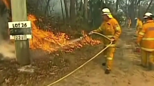 Australia weather could hinder fire fight