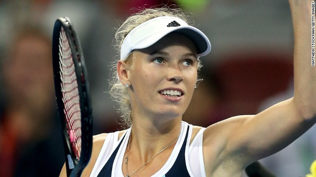 Caroline Wozniacki won her first title since 2012 at the Luxembourg Open.