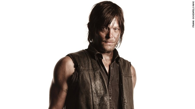 "Norman Reedus plays Daryl Dixon on AMC's smash hit ""The Walking Dead."""