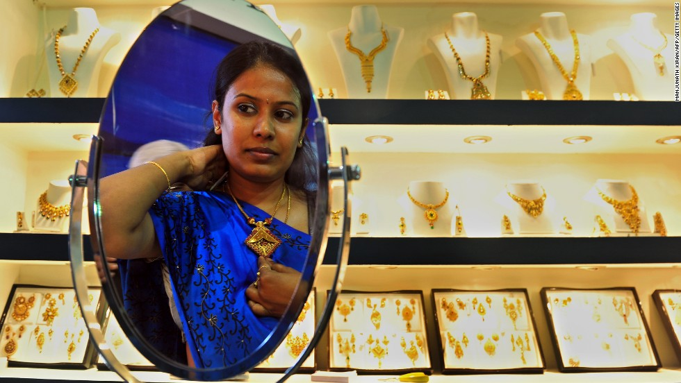 From pearls to Jaipuri gems, Indian jewelry is coveted the world over, but Indian women wear it best -- all at once.