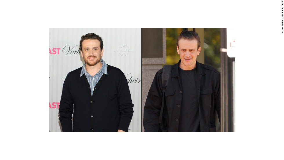 "Jason Segel worked hard to shed weight for his role in the comedy ""Sex Tape,"" which also stars Cameron Diaz. The actor said adopting a healthier lifestyle was key."