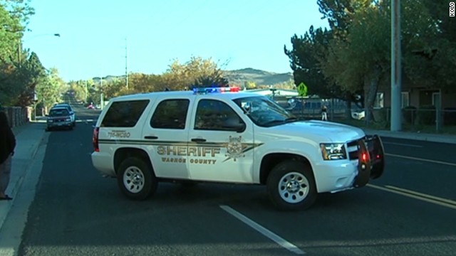 Shots fired at Nevada middle school