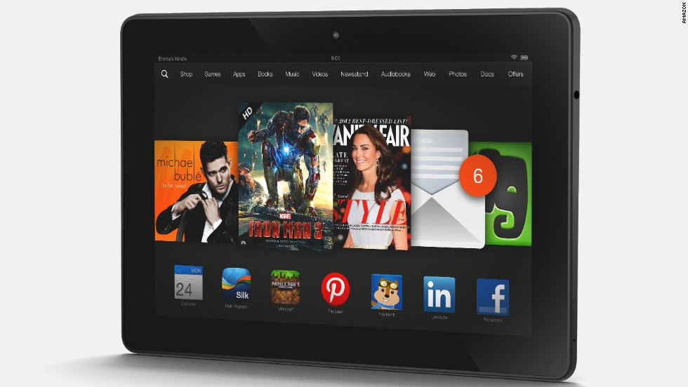 "<strong>Kindle Fire HDX.</strong> OK, so the Kindle Fire HDX is a tablet and therefore familiar. But it comes with something unfamiliar: a <a href=""http://www.cnn.com/2013/09/25/tech/mobile/kindle-customer-service/"">human tech support representative</a> available at the touch of a button. This could be the tablet for your tech-unsavvy relatives. (Amazon.com, $229-309 depending on memory size)"