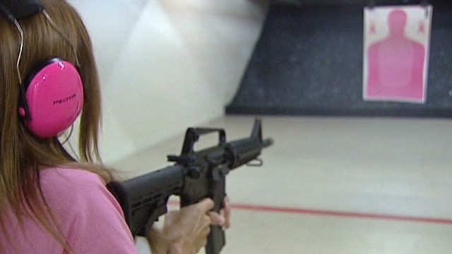 Top Gun Bumpers : She likes her guns with some bling cnn video