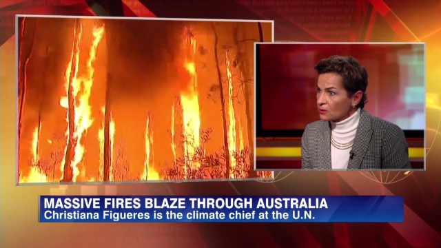 The U.N.'s climate chief on wildfires