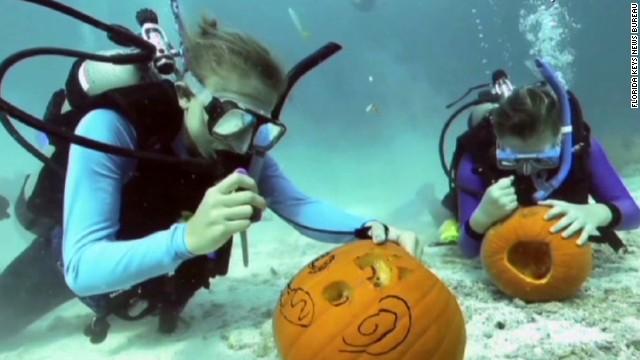 Pumpkin carving reaches new depths