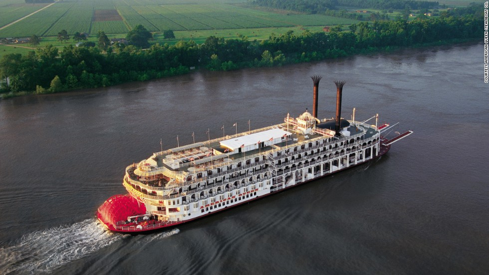 Journeys with the American Queen Steamboat Co. glide past scenic farmland across the United States. U.S. river cruising has been growing in popularity.