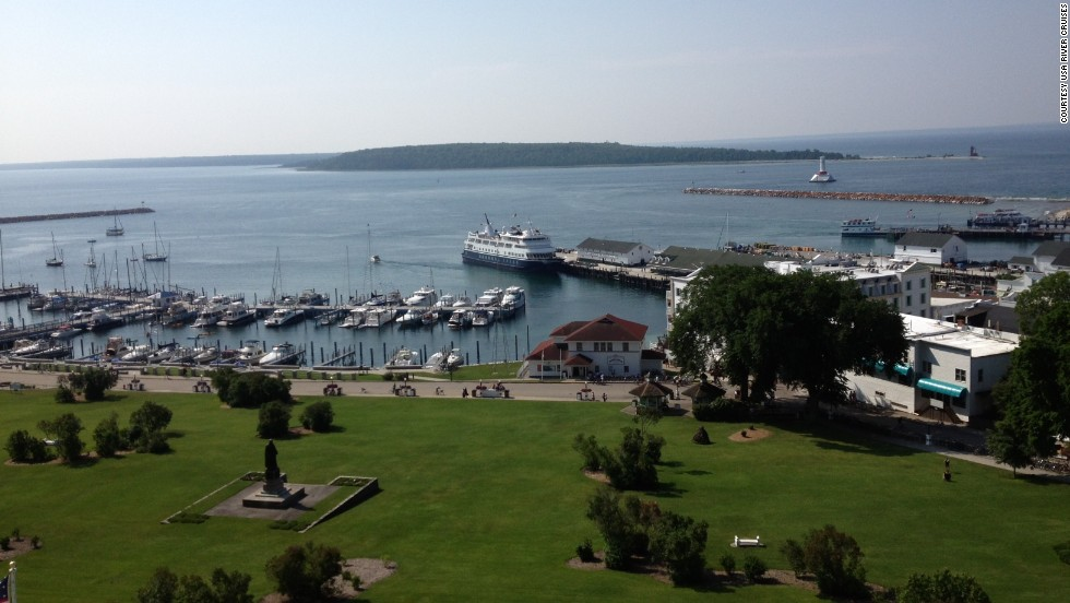 Check out Michigan's picturesque Mackinac Island during an 11-day Great Lakes cruise with USA River Cruises.