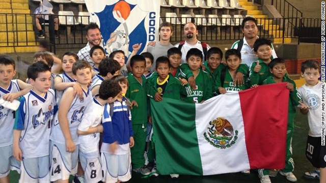 """The victorious Triqui Indian boys team from Mexico, nicknamed the """"Barefoot Giants of the Mountains."""""""